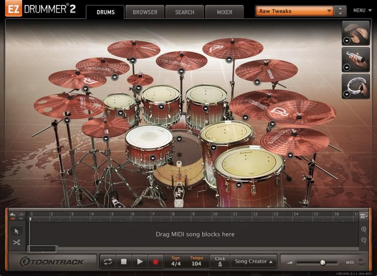 EZdrummer (Win) Available For Free (Crack Download)