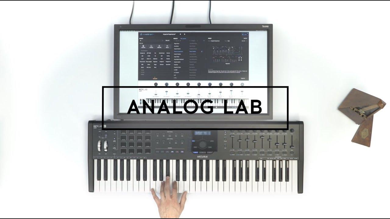 Arturia Analog Lab (Mac) Cover