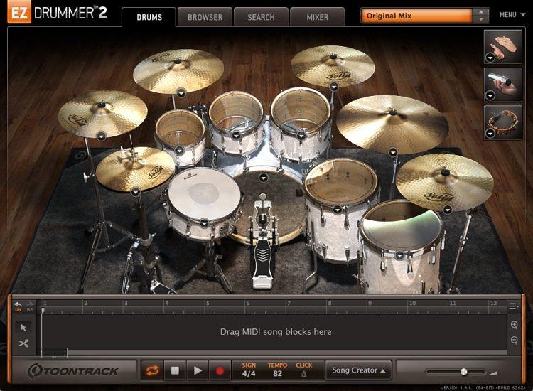 EZdrummer (Mac) Crack Free Download