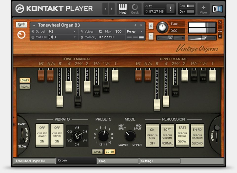 Native Instruments – Vintage Organs (KONTAKT) Crack Free Download