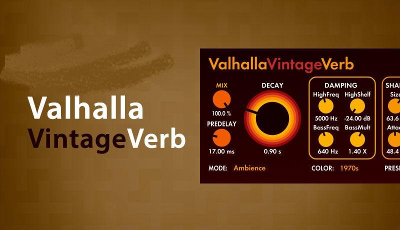 Valhalla VintageVerb Cover