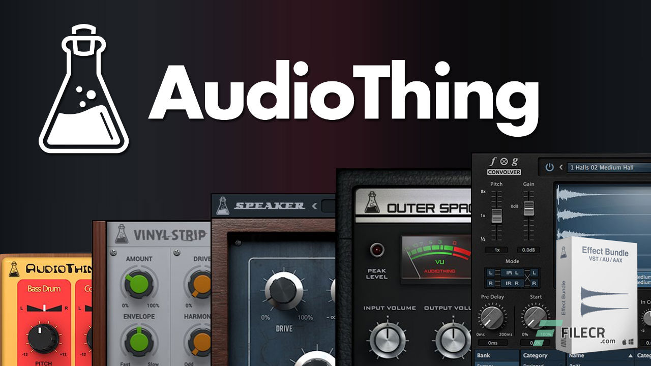 AudioThing Effect Bundle 2019 Cover