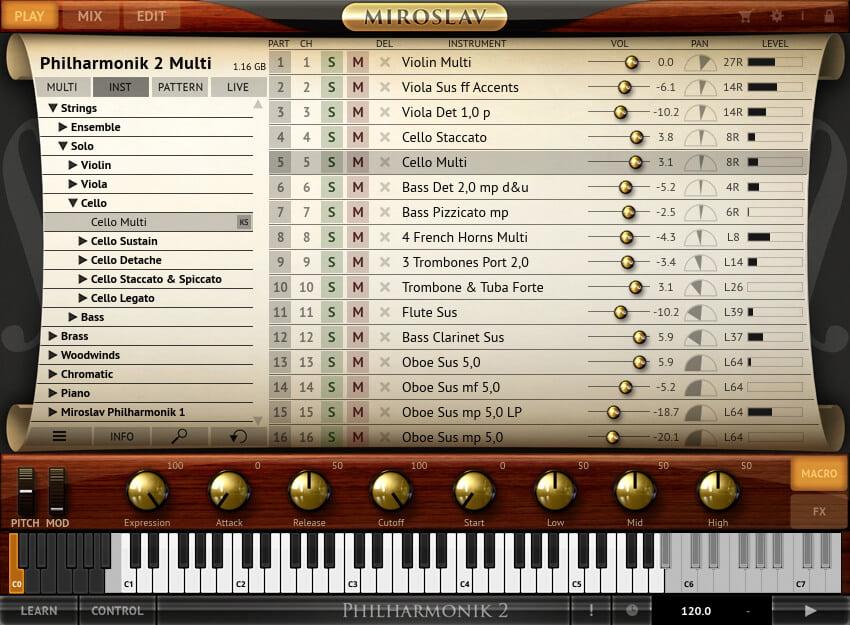 Miroslav Philharmonik 2 (Mac) Crack Free Download