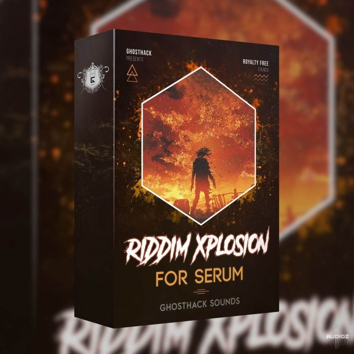 Ghosthack Riddim Xplosion Cover
