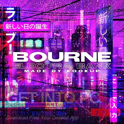 KOOKUP – Bourne Cover